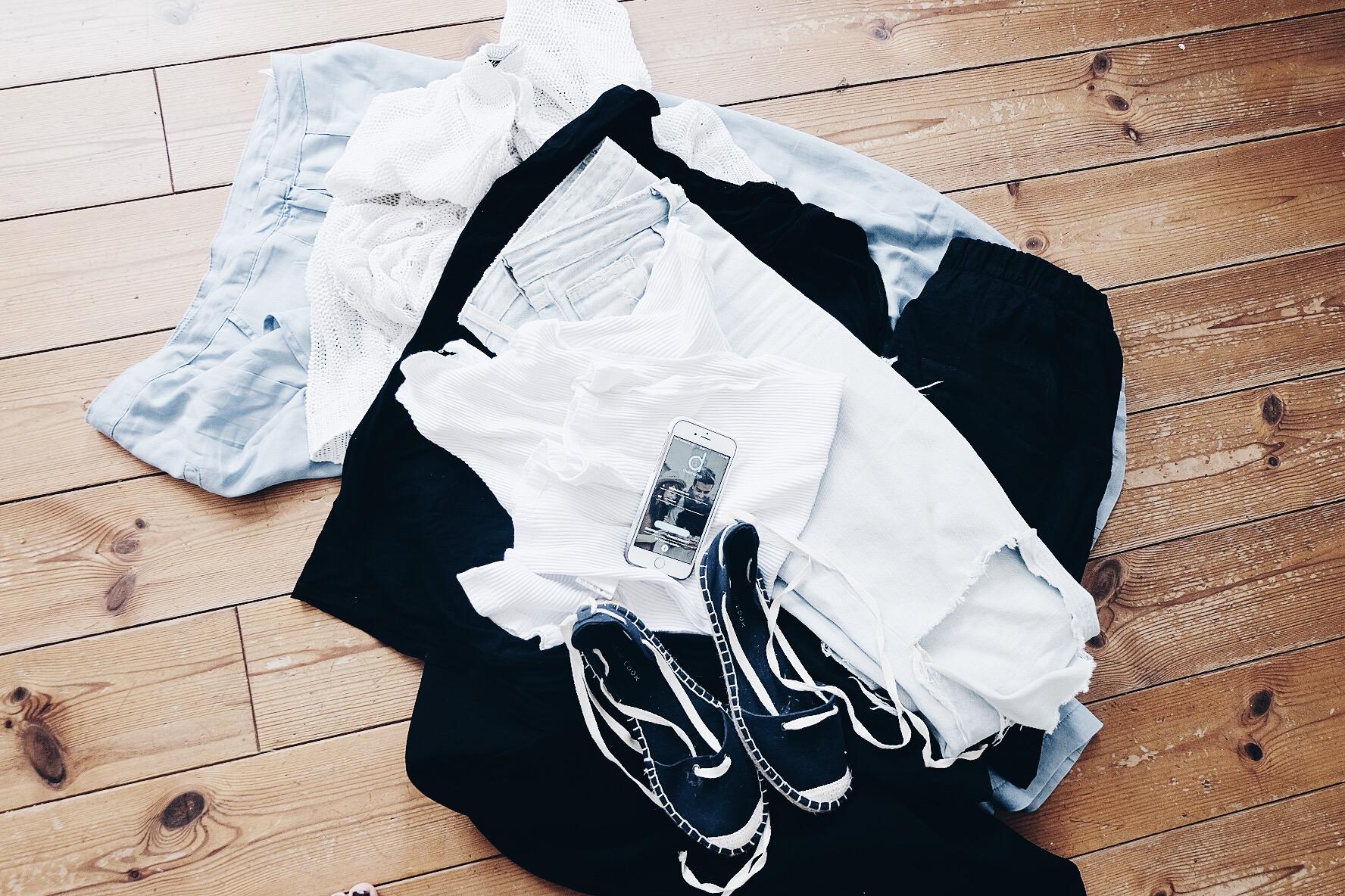 dress me app, blogger, Kleidung, Stillife, Espadrilles, Jeans, Minimalism