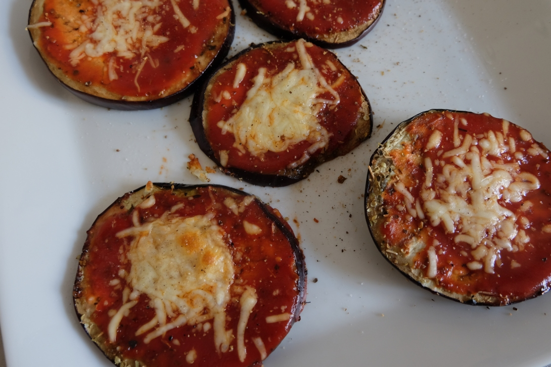 Eggplant Pizza Low Carb Dinner Aubergine