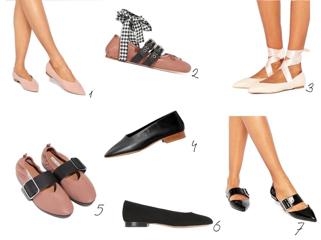Mila Svart-Ballerinas 2017 Produkte